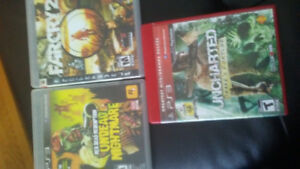 PS3 games assorted