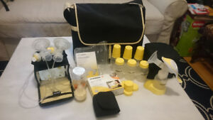 Medela Pump in Style Advanced (metro bag style) + Harmony pump