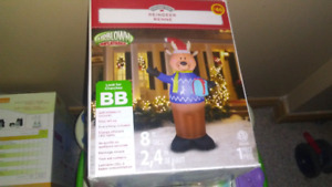 Xmas outdoor.blowup figure