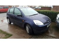 Ford Fiesta 1.3 finesse,12 months mot,52 plate,sell,swap.