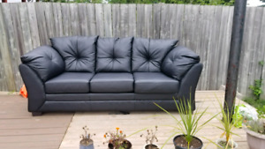 2 branded Leather couches, $300 looking for quick sale