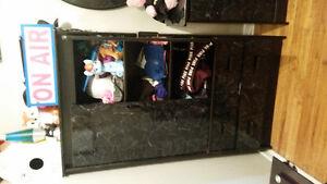 6 Piece Black Queen/Double Bedroom set