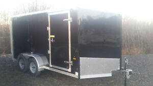 2018 7X14 Enclosed Cargo Trailer