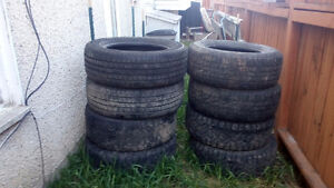 12,20in used tires and four Silverado truck rims for sale .