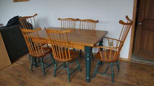 Pine Dining Room Set