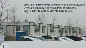 Portable 6000 sq.ft Office Building only $289,950 Delivered 100k