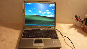 Used Dell D610 Laptop with Wireless, DVD &Parallel Port for Sale
