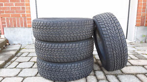 Winter Tires For Sale- Excellent Condition- Used ONE Season West Island Greater Montréal image 1