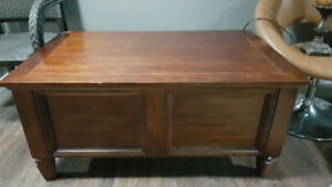 Coffee and End Table Set - Solid Wood