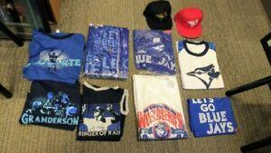 Blue Jays Baseball Hat Coin Shirt Ticket  SGA + Jays bobblehead