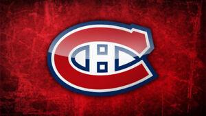 42 billets pour les Canadiens de Montréal pour 660$ sous le cost