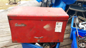 Snap On Tool Chest full of lots of tools.