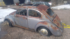 1958 factory ragtop beetle with tittle