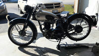 1946 BSA C-11 MATCHING # WITH OWNERSHIP