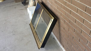 Fireplace Gold Glass Doors - Very Good Quality - Great Condition Cambridge Kitchener Area image 2