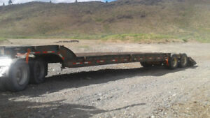 40 Ton Peerless Single Drop Low bed Trailer