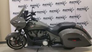 2015 Victory Motorcycles Cross Country Gloss Titanium Metallic