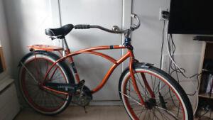 Vélo de ville rétro