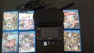 Playstation Vita Original Model Big Bundle with games + charger