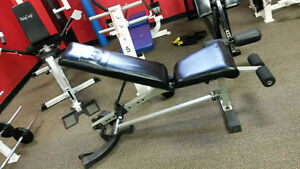 SUPER DEAL--NAUTILUS INCLINE/DECLINE/ BENCH