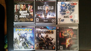 Lot sale PS3 games and charger