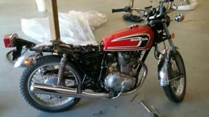 2 Honda cb360 s