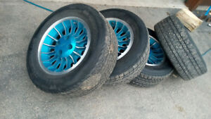Mustang wheels and tires