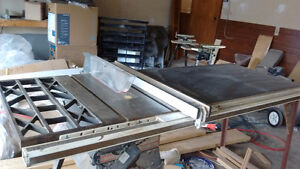 Craftsman 10 inch table saw with Bysmere 53inch fence system