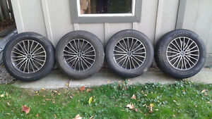 16 in Tires with Rims -  Moving $600 obo