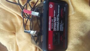 MotoMaster Automatic Battery Charger with engine Start