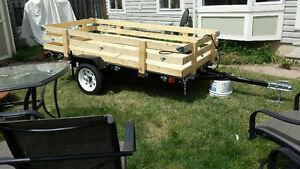 NEW Folding Trailers: sizes 4'x8' or 5'x8' starting at $598
