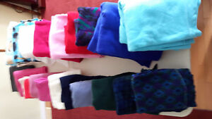 Polar fleece pieces