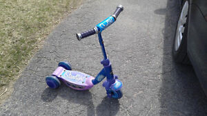 Huffy 3 wheel scooter