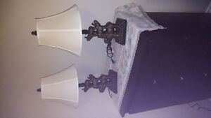 2..Lamps.with.Elephants on them..Like New..$35..