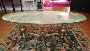 Antique Coffee table with Granite top