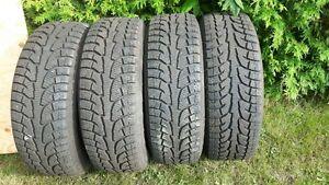LT255/65R18 Hankook 109T, 4 tires Winter