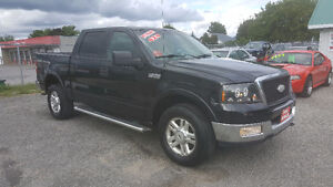 FORD F150 SUPER CREW *** FULLY LOADED 4X4 *** CERT $8495