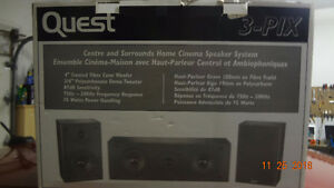 NEW PRICE JUST DROPPED by  $15  quest speakers BRAND NEW IN BOX