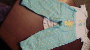 BABY GIRL CARTER OUTFIT $2.00 Kitchener / Waterloo Kitchener Area image 2