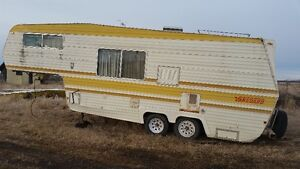 25' 5th wheel, MICRO/TINY HOME/TOY HAULER/CAMPER