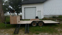 Landscaping trailer 16feet long