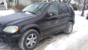 2003 Mercedes-Benz M-Class SUV, Crossover