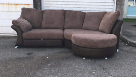 Nice and comfortable corner sofa, local delivery possible