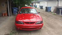 1997 Ford Mustang Cobra - supercharged