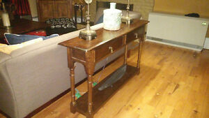console table or sofa end table