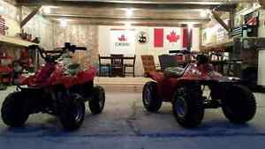 Two Youth ATV for sale, in nice shape