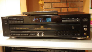 SONY CDP-C69ES CD Player with DSP / Equalizer and Reverb