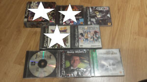 Playstation 1 and 2 Games for Sale or Trade