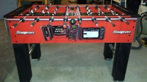 Snap on Foosball table