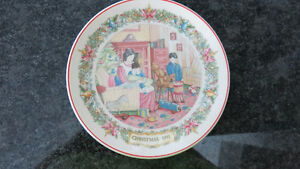 Wedgwood Christmas Traditions 1991 Plate